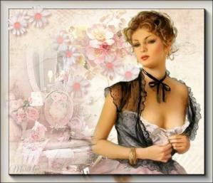 La dame corsage