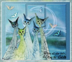 Les chats bleus